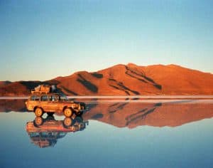 Bolivia Salt Flats Mirror Effect