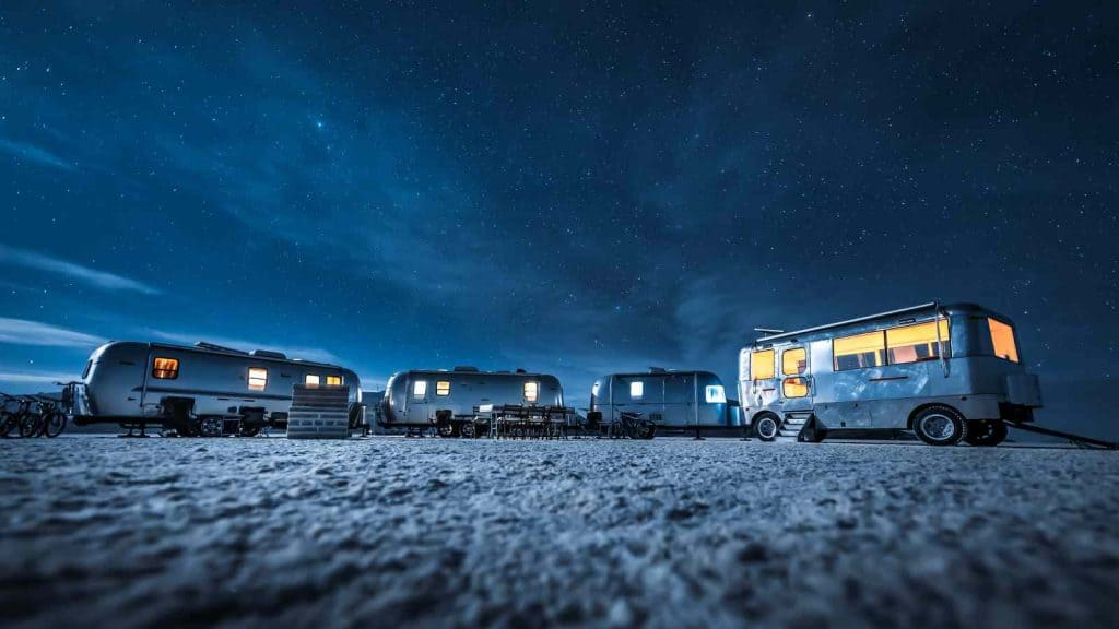Overnight Camping at the Bolivia Salt Flats