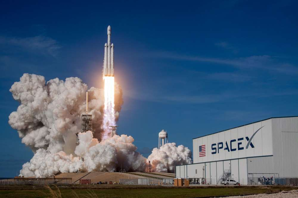 SpaceX Rocket Launch and Testing In Boca Chica Texas