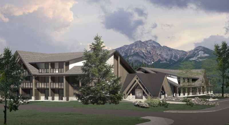 New wilderness accommodation from Pursuit in Jasper